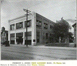 Troy Laundry of Ft. Wayne Indiana 1916